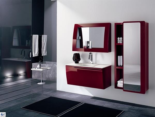 Mobili Bagno Rosso Bordeaux ~ Just another WordPress siteIspirazione per il Design per la Casa e ...