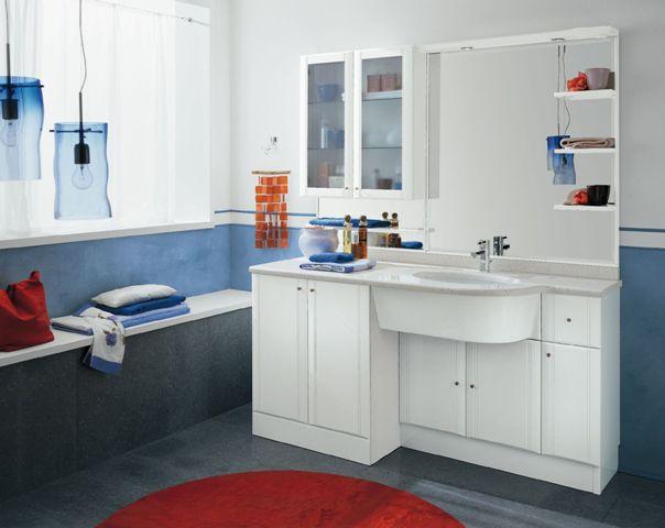 Arredo bagno classico mimosa bagni bottaro alessandro - Accessori bagno classico ...